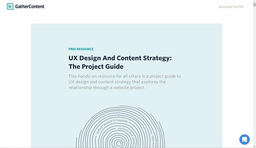 UX Guide to Content Strategy
