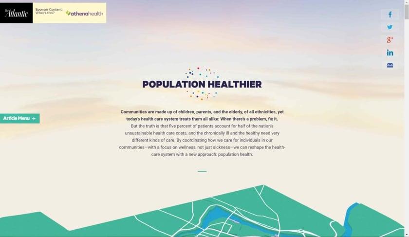 Population Healthier
