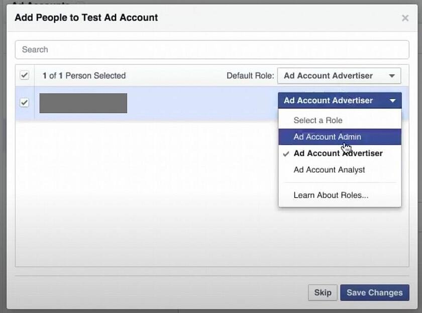 add people to facebook ads manager account