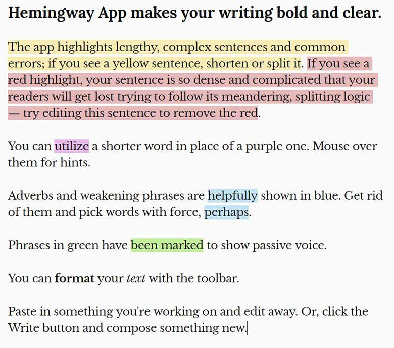 Hemingway-App-Screenshot