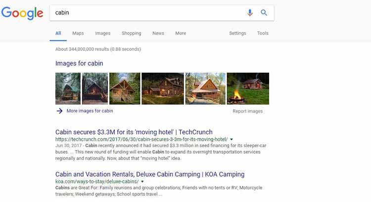 KOA Search Results Inbound Marketing