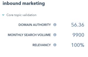Toplic Cluster Relevancy to Domain