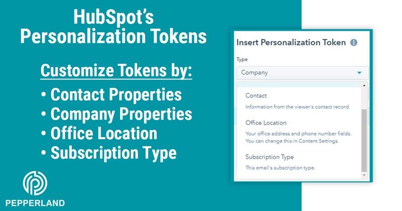 hubspot personalization token