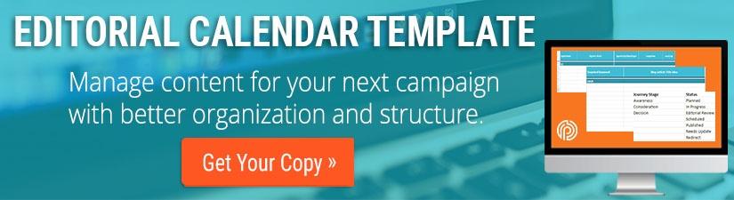 editorial calendar CTA